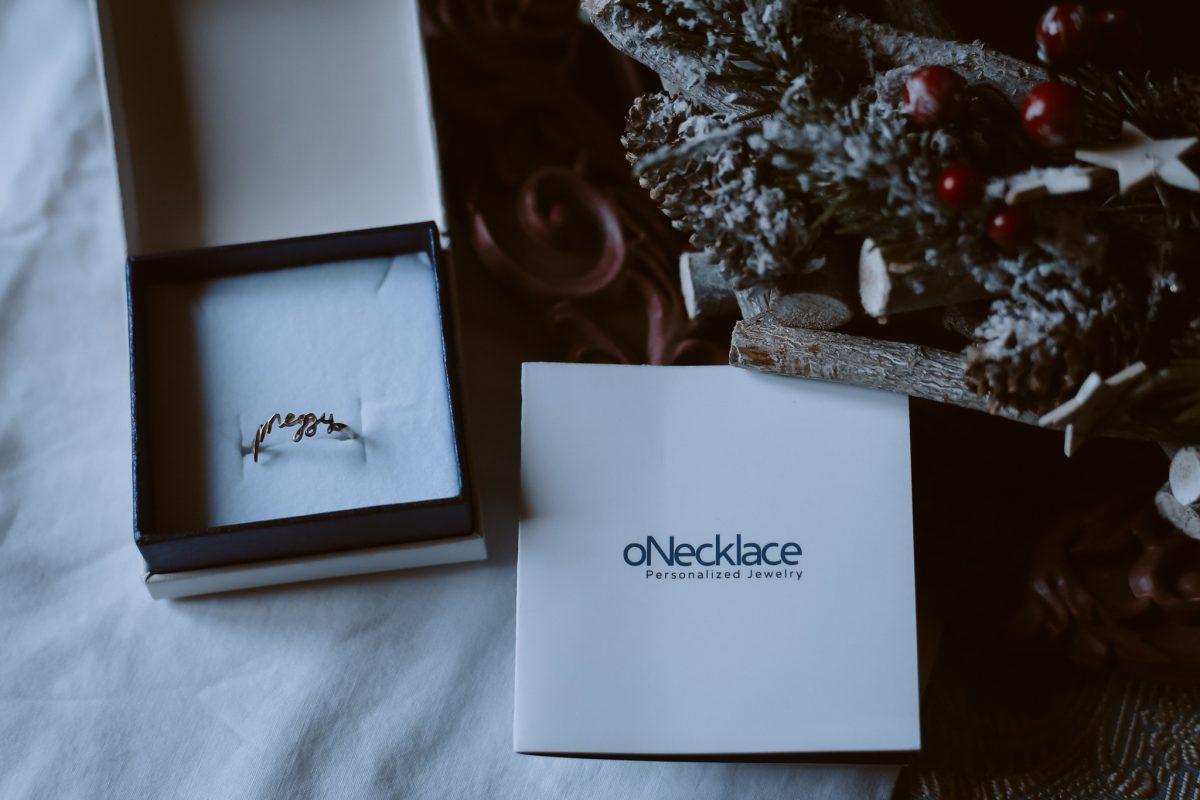 onecklace anello personalizzato