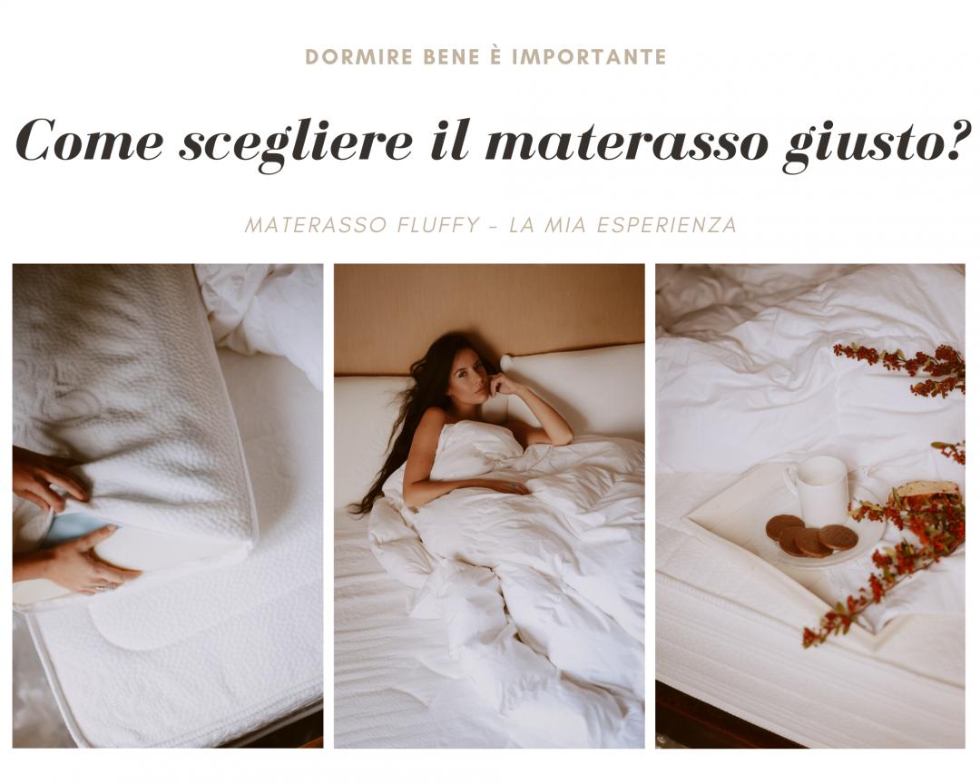Materasso Body Shape Elite.Come Scegliere Il Materasso Giusto Oggi Parliamo Di Fluffy Impossibile Fermare I Battiti Lifestyle Blogger Roma